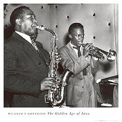 Charlie Parker and Miles Davis - Click Image to Close